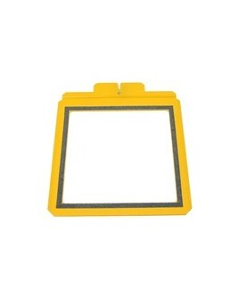 "1 SET CADRE JAUNE SL2 76MMX130MM (6.5""X6.5""WINDOW SET  SLIM LINE 2)"