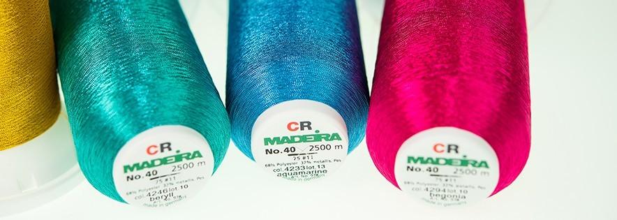 CR Metallic - Fil à broder Madeira